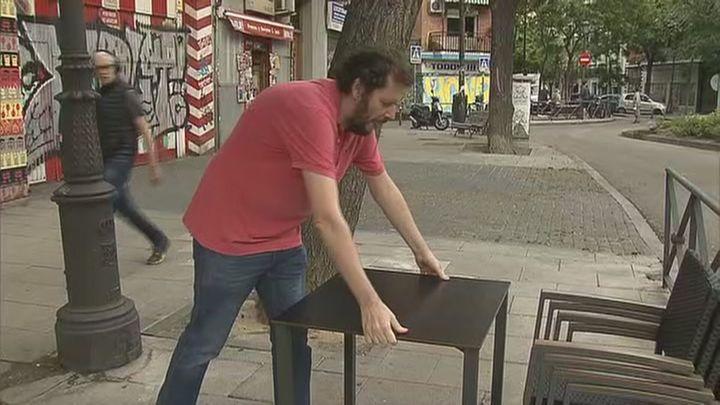 La capital prorrogará la ampliación de las terrazas de bares y restaurantes hasta fin de año