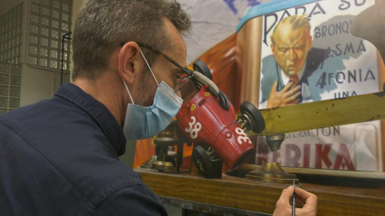 Así trabaja el pintor hiperrealista de renombre internacional que vive en San Lorenzo de El Escorial