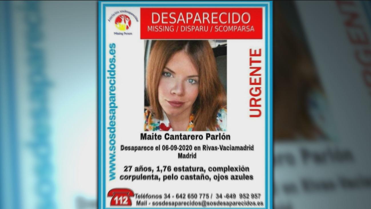 Continúa la búsqueda de Maite, una joven de 27 años desaparecida en Rivas Vaciamadrid