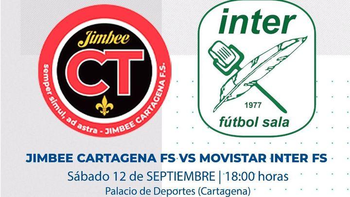Movistar Inter debuta en la pretemporada en La Otra ante el Cartagena