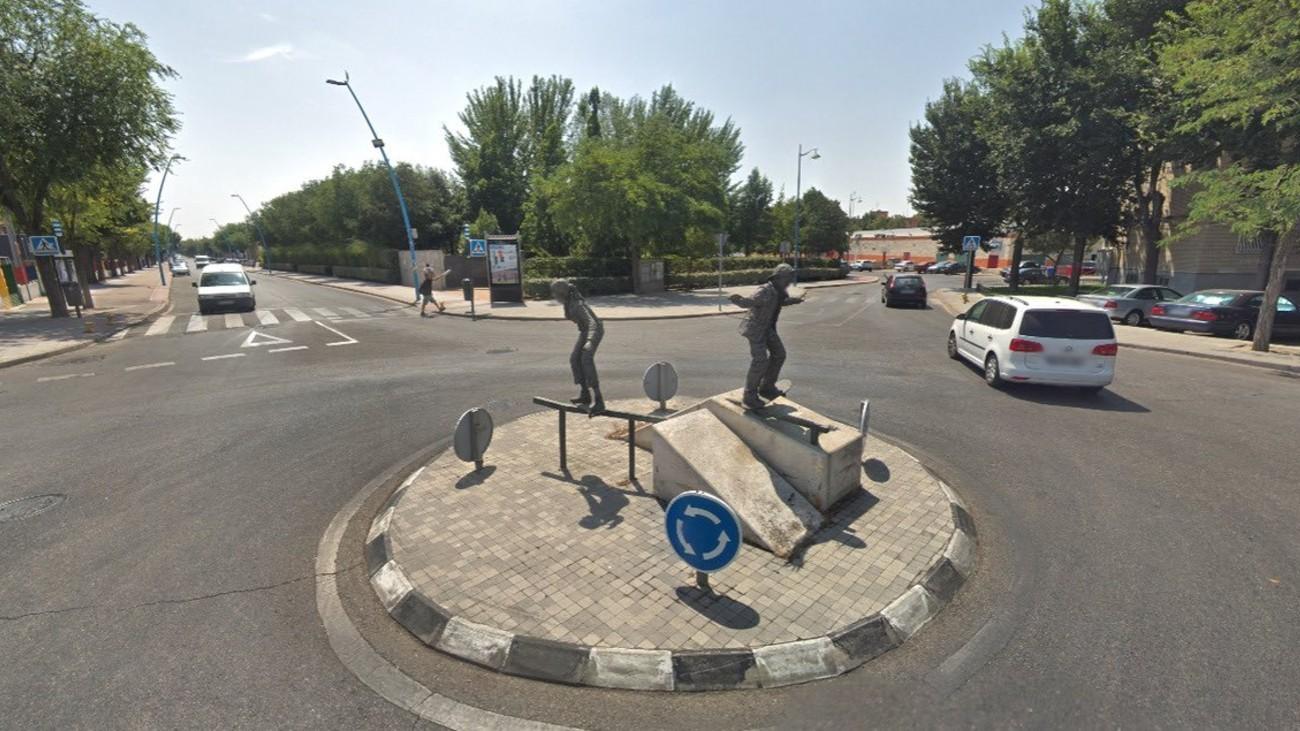 Avenida Juan Carlos I de Parla