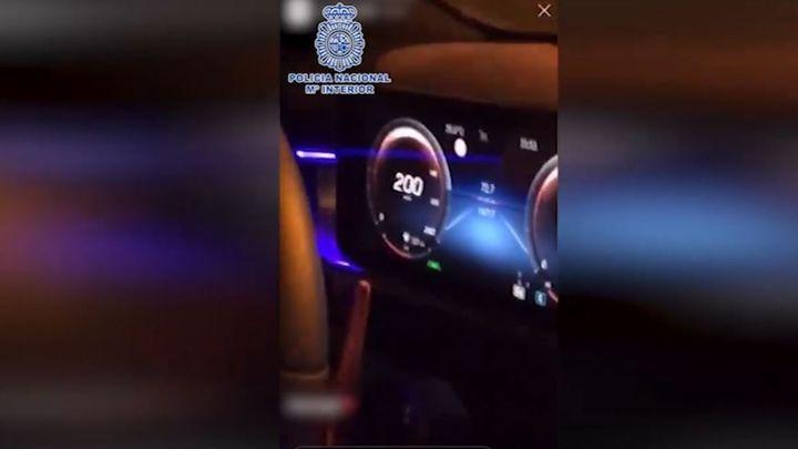 Detenido en Toledo tras publicar un vídeo en el que conducía bailando a más de 200 km/h