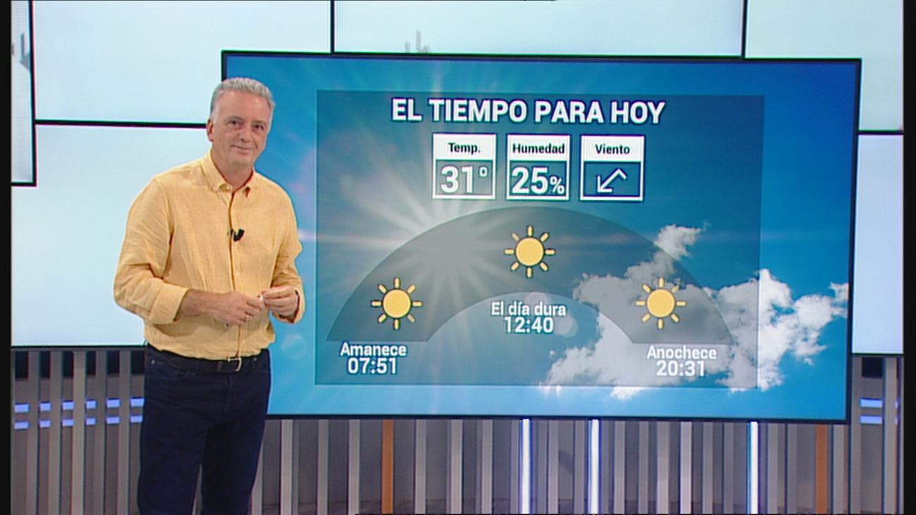 Cielos despejados y temperaturas en aumento hasta los 31 grados en Madrid