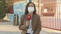 Primer positivo por coronavirus de un niño en un colegio público de Latina