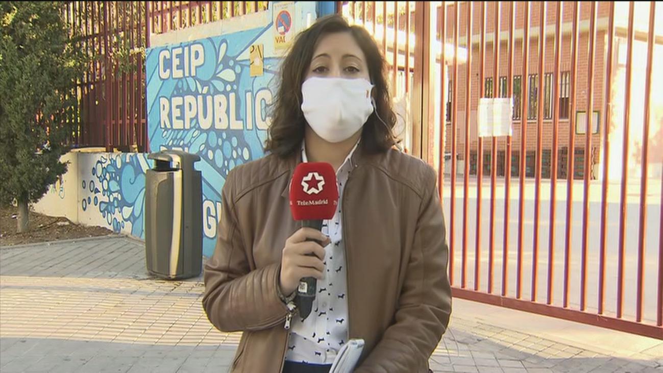 Primer positivo por coronavirus de una niña en un colegio públicode Latina