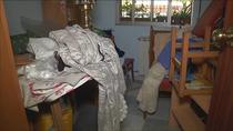 Cuatro meses fuera de su casa, tras un incendio por un cortocircuito en San Fermín