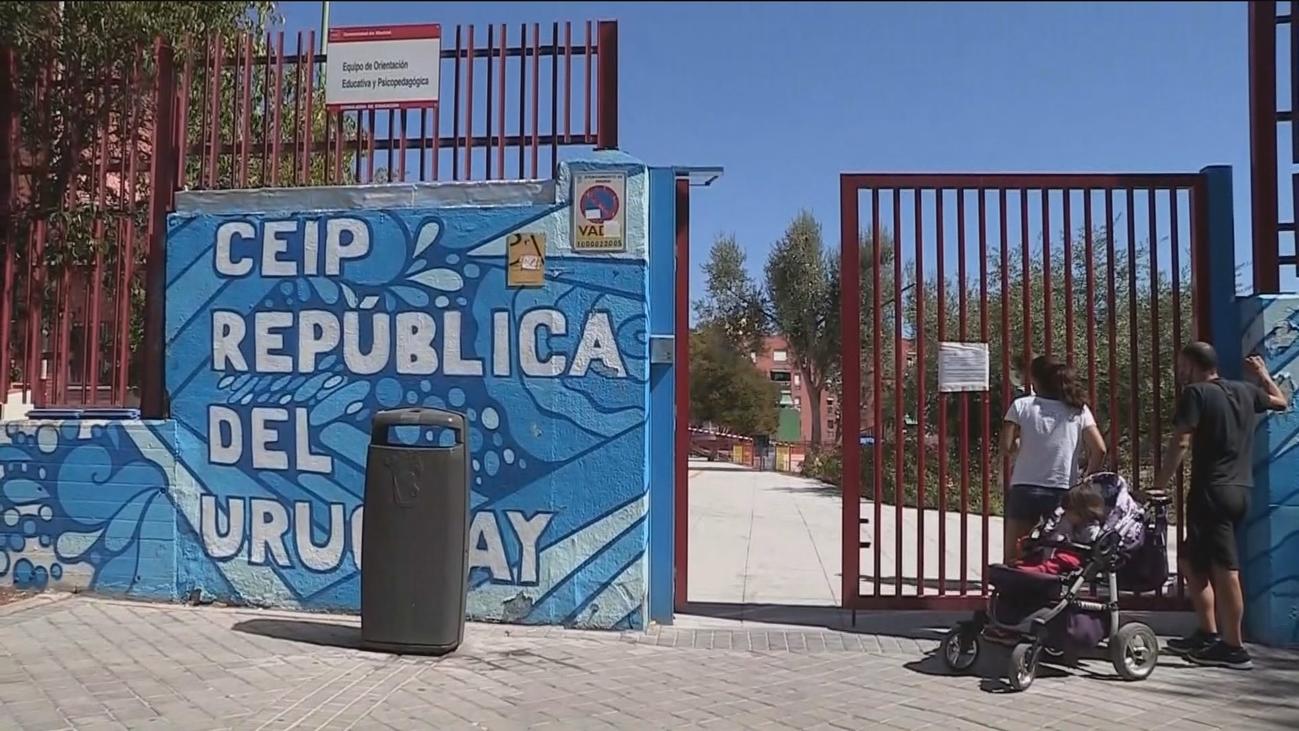 PCR y cuarentena para una clase del colegio Uruguay de Latina por el positivo de una alumna
