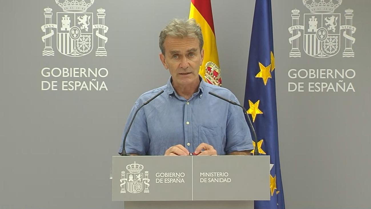 """Simón asegura que la pandemia por coronavirus """"se estabiliza"""" en España"""