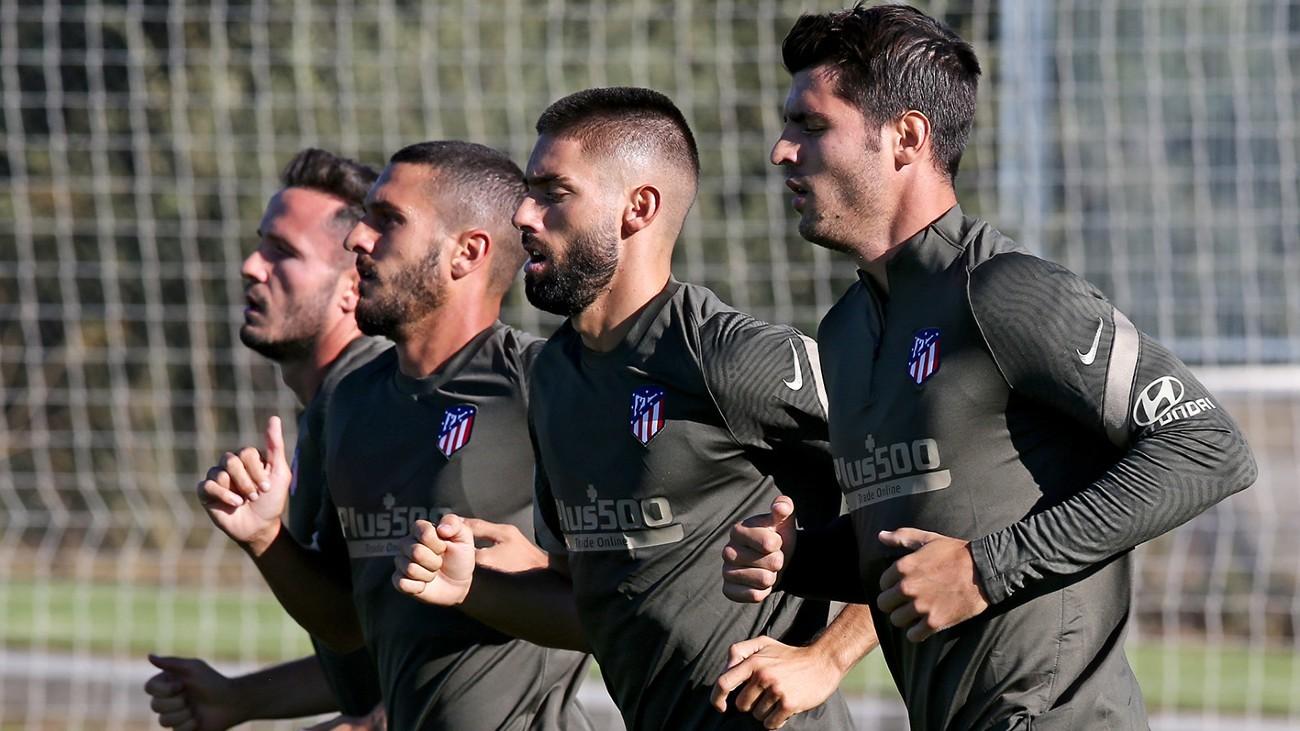 Morata, Carrasco, Koke y Saúl