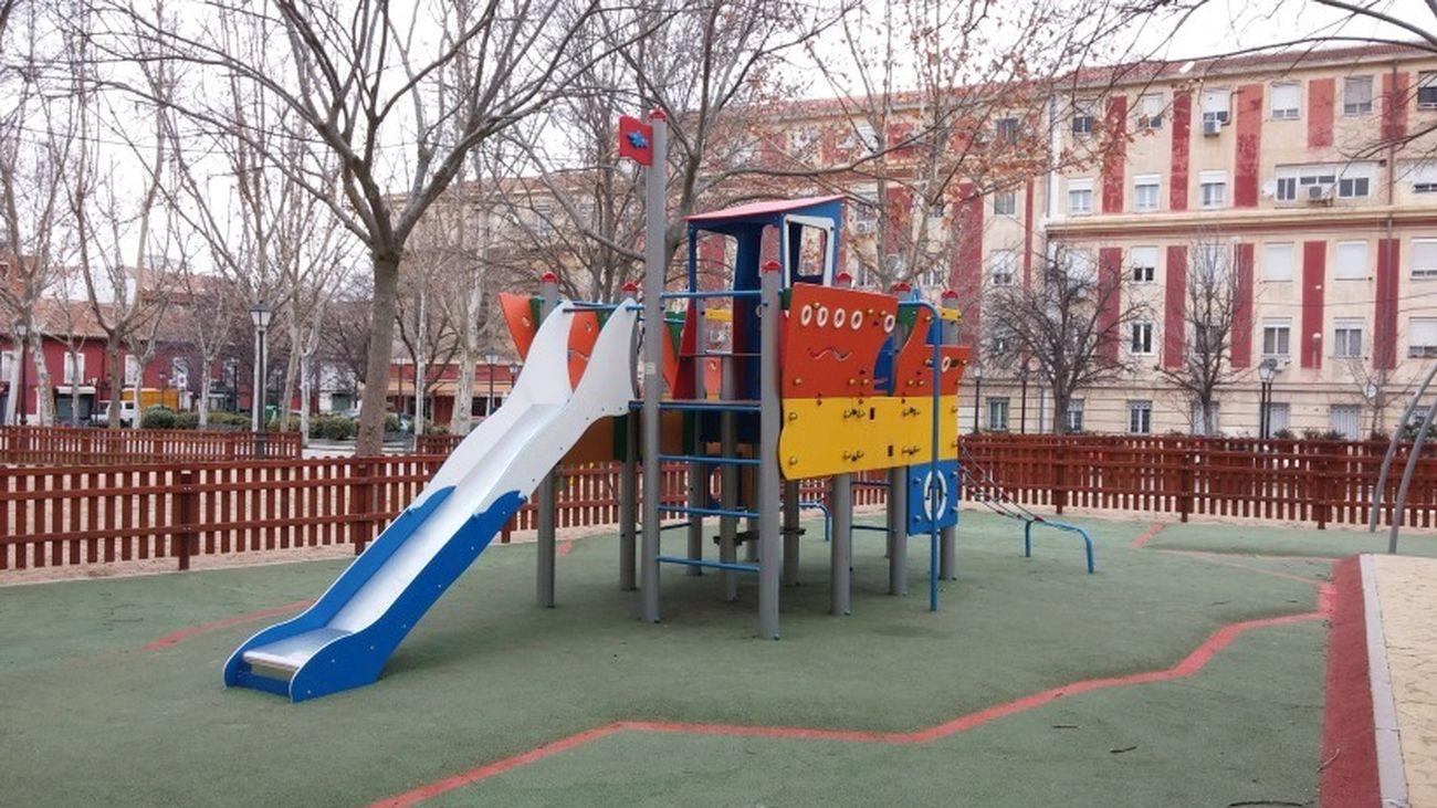 Parque infantil en Aranjuez