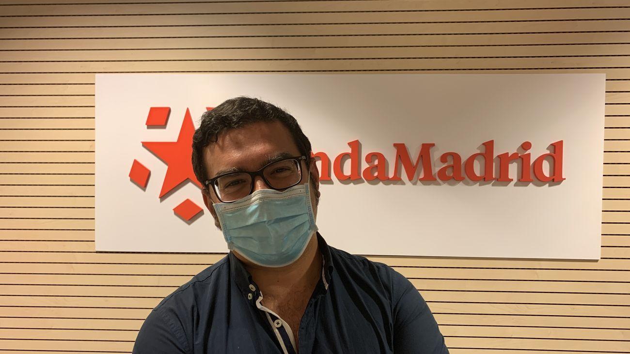 Estanislao Nistal, profesor de virología y microbiología de la facultad de Farmacia de la  universidad CEU San Pablo