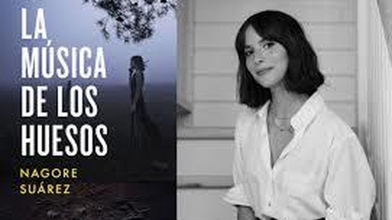 La escritora Nagore Suárez presenta su primera novela de ficción 'La música de los huesos'