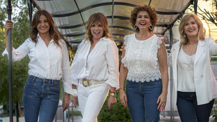Las 'Chicas Hermida' presentan su sección de tertulias, 'Ellas'
