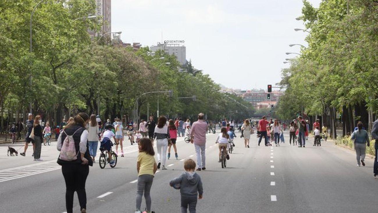 Una docena de calles de la capital vuelven a ser peatonales este fin de semana
