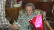 Leoncia, la cumpleañera centenaria
