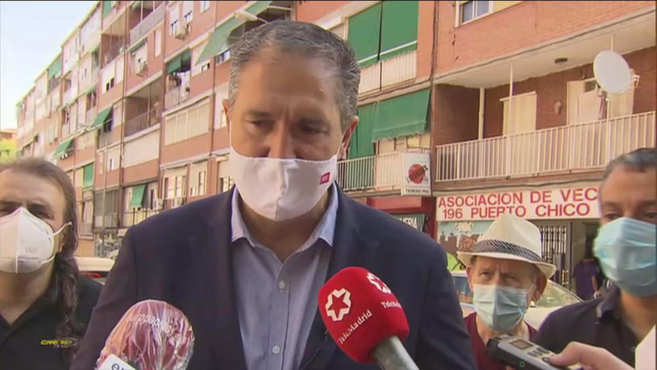 """Cepeda (PSOE) antepone ayudar a solucionar los problemas de los madrileños a los """"juegos políticos"""""""