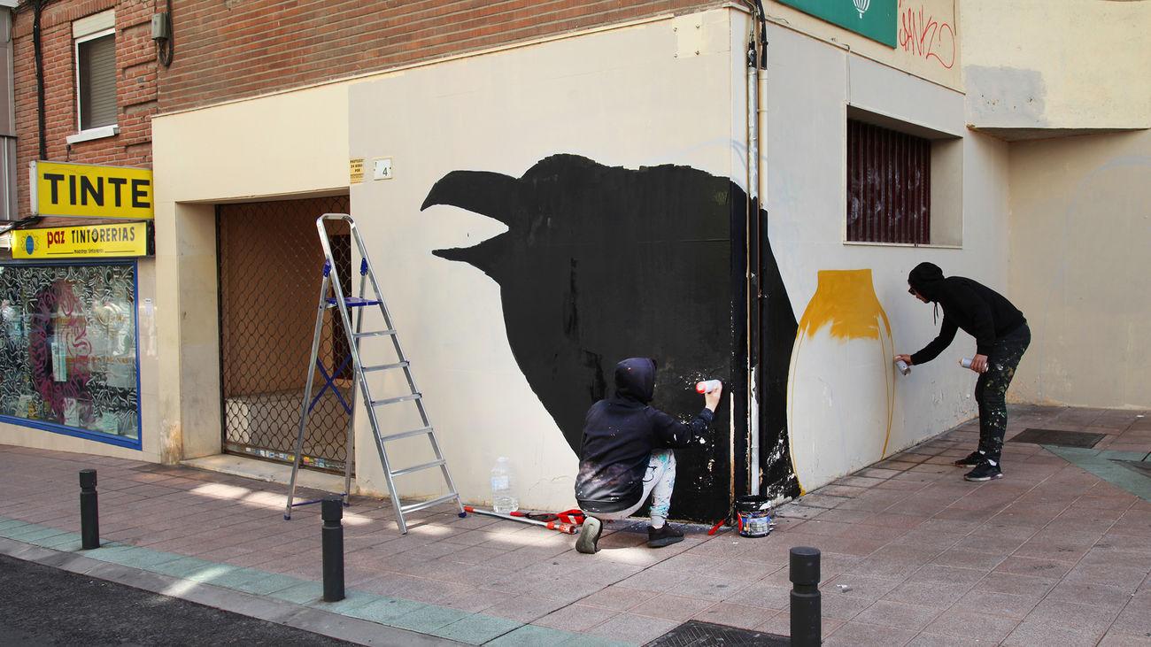 Alcobendas prepara una visita en bicicleta para dar a conocer su arte urbano