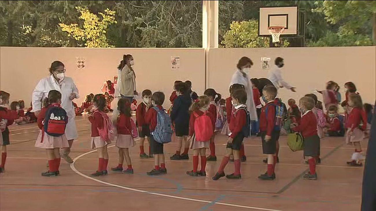 Alumnos de un colegio