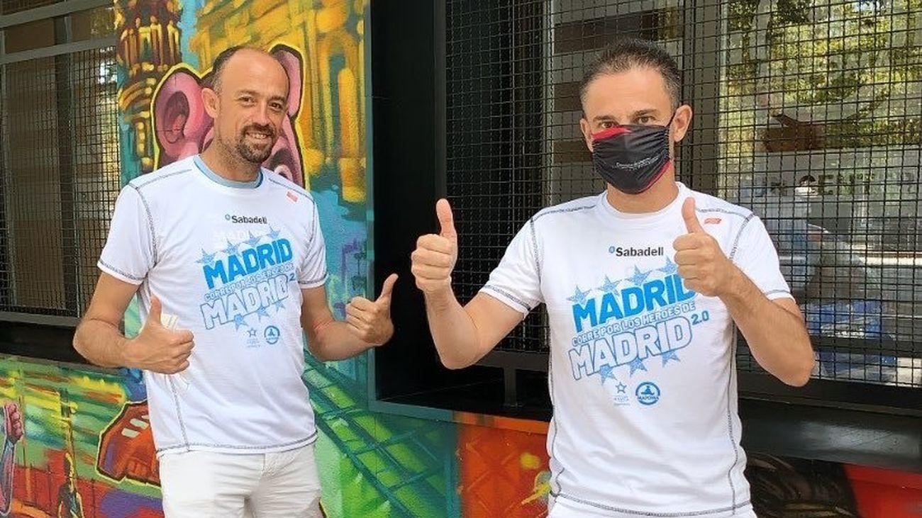Carrera virtual Madrid Corre por Madrid