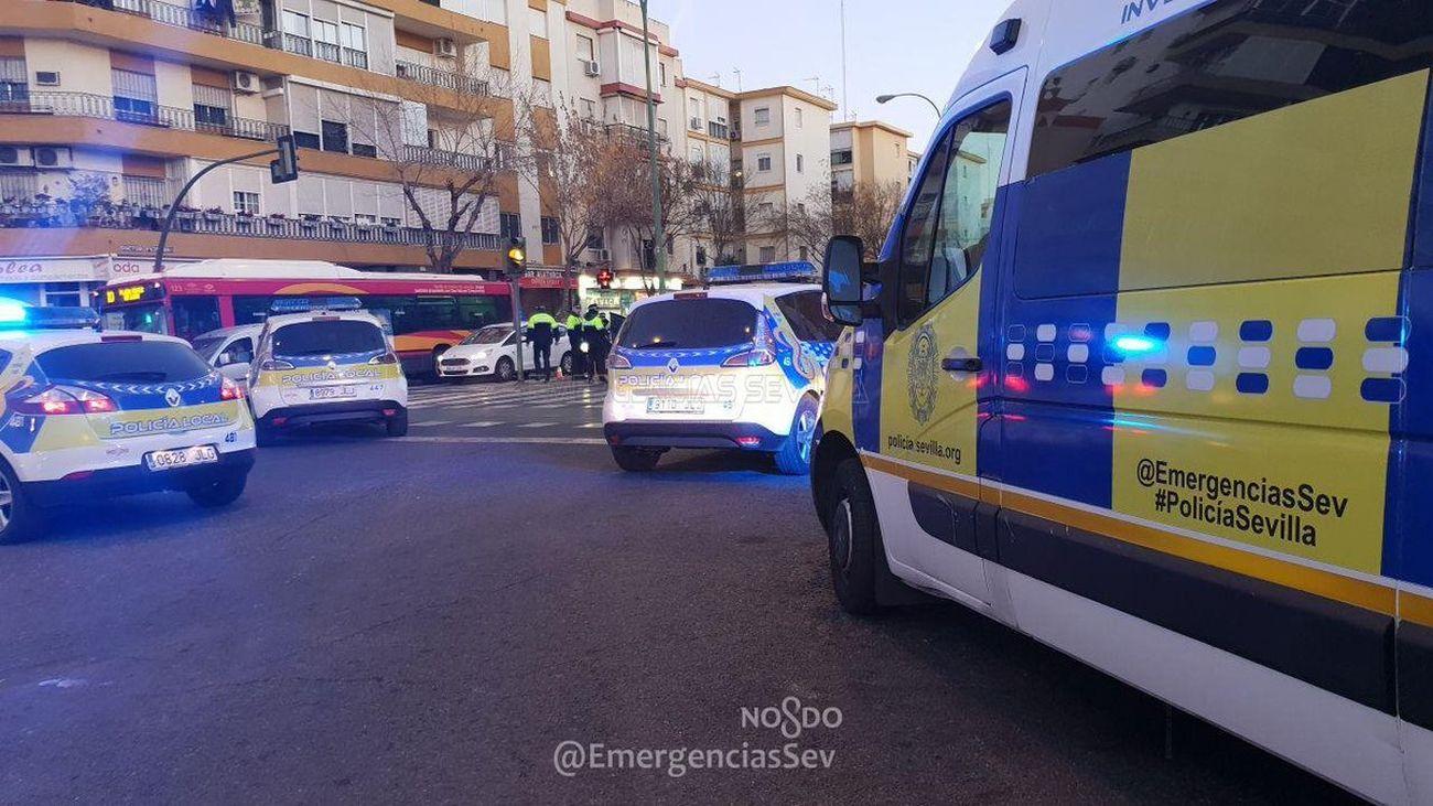 Detenido un joven 27 años en Sevilla por agredir a su padre con una catana