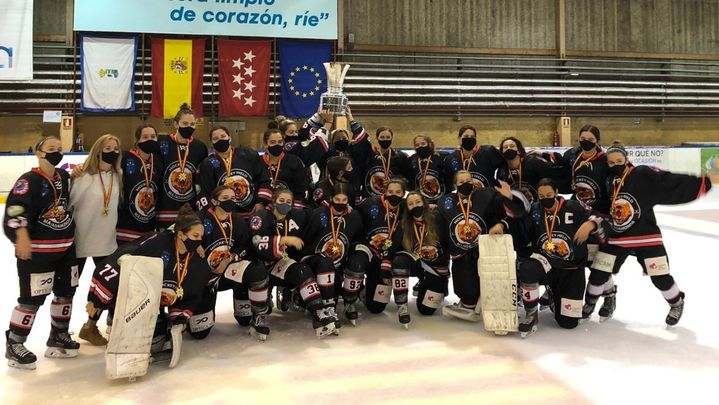 Majadahonda suma su séptimo título de liga de hockey hielo
