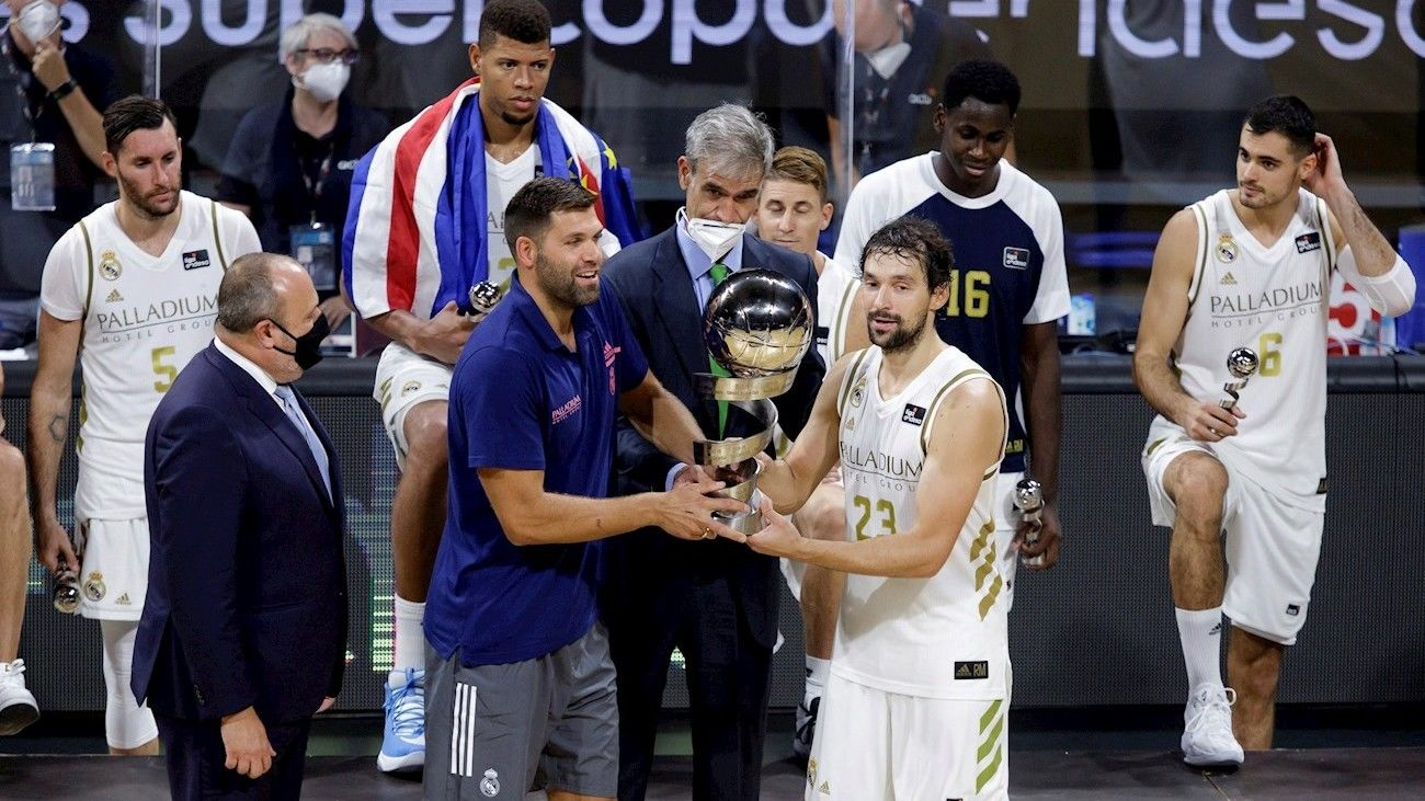 Real Madrid gana la Supercopa de España