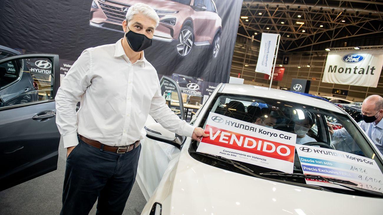 Feria de vehículos de ocasión en Valencia