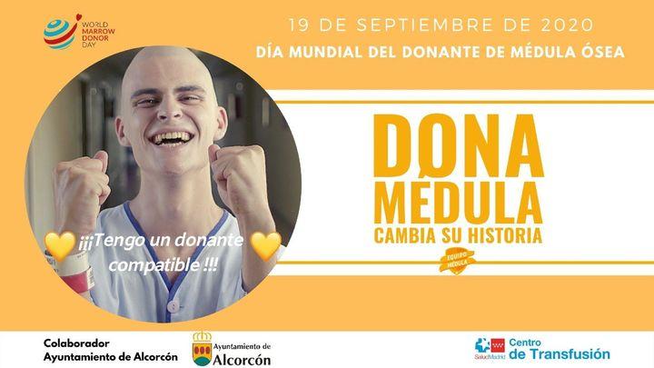 Alcorcón llama a los jóvenes a que se registren como donantes de médula ósea