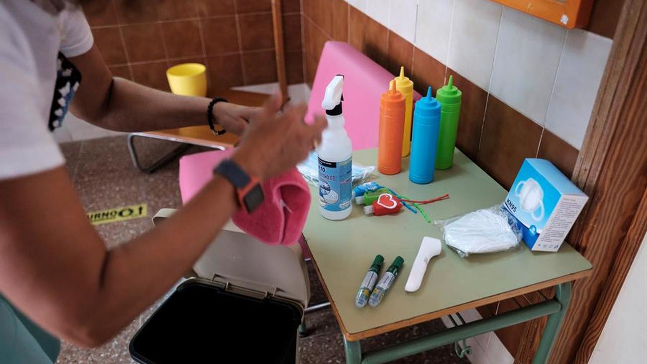 Más incidencias por Covid-19 en los colegios con una treintena de aulas cerradas en Madrid