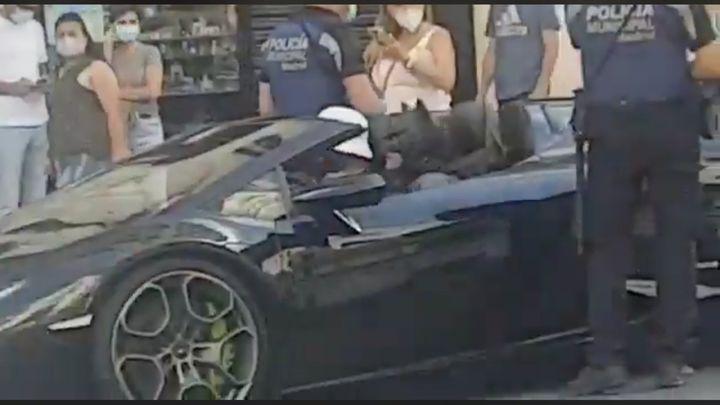 La Policía Municipal denuncia a Batman en plena Gran Vía