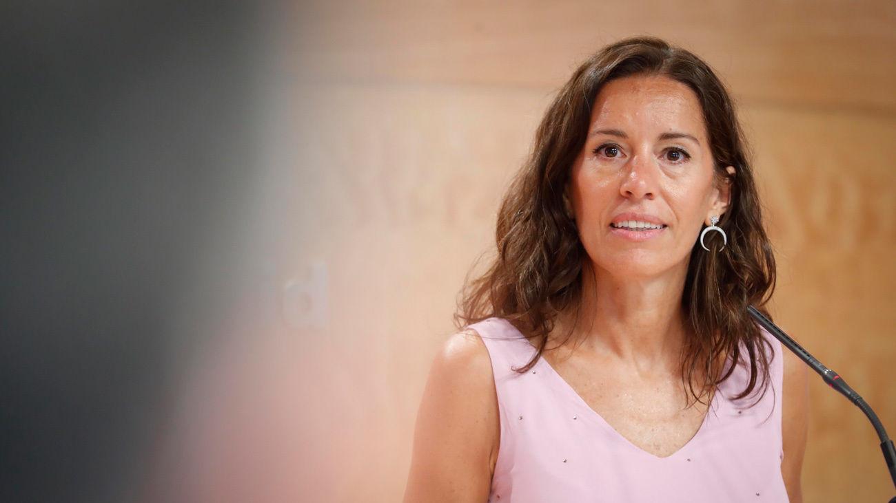La consejera de Presidencia de la Comunidad de Madrid, Eugenia Carballedo