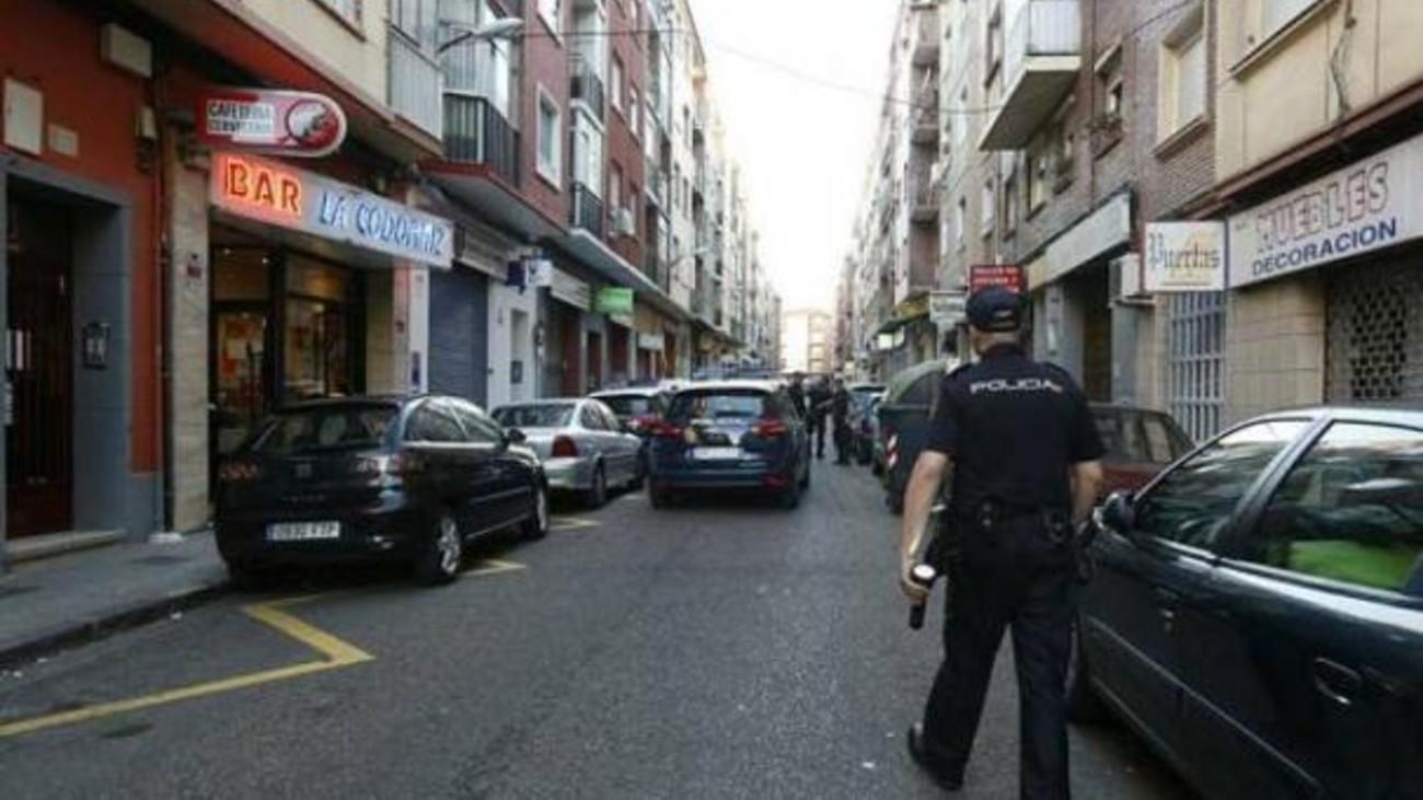 Calle Domingo Ram, en el barrio de las Delicias de Zaragoza