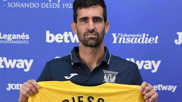 """Riesgo: """"Vengo a competir la titularidad bajo los palos del Leganés"""""""