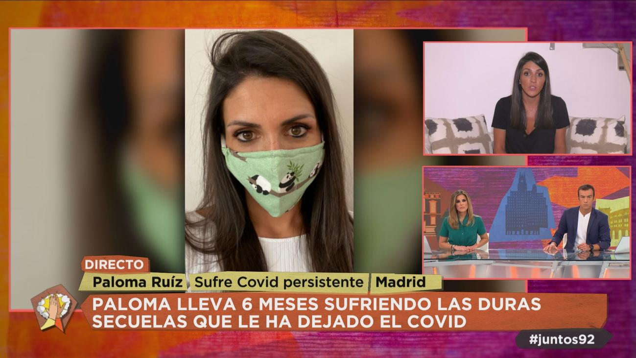 """Paloma sufre de covid persistente: """"Creo que la gente debe saber las secuelas que deja la enfermedad"""""""