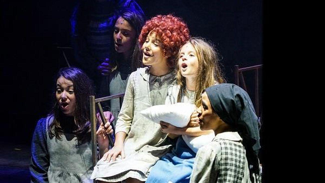 Fotografía del  musical 'Annie'