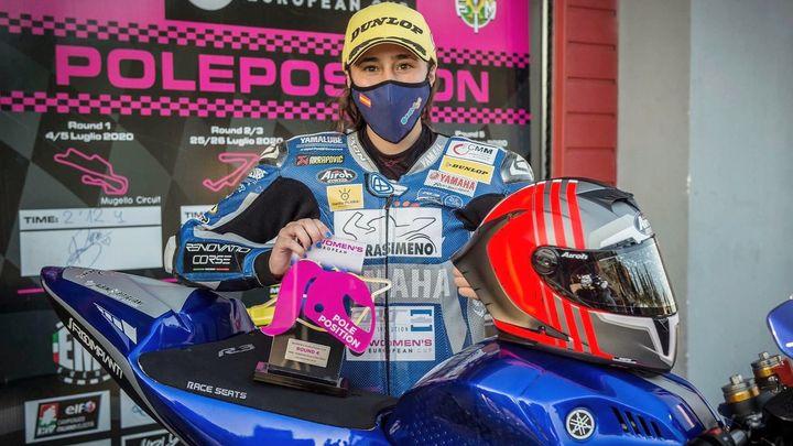 Beatriz Neila, reina del Europeo de velocidad en motos