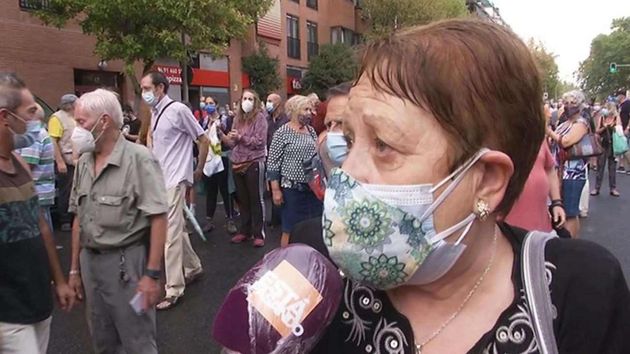 Los vecinos vuelven a protestar por la falta de médicos en el Centro de Salud de Abrantes