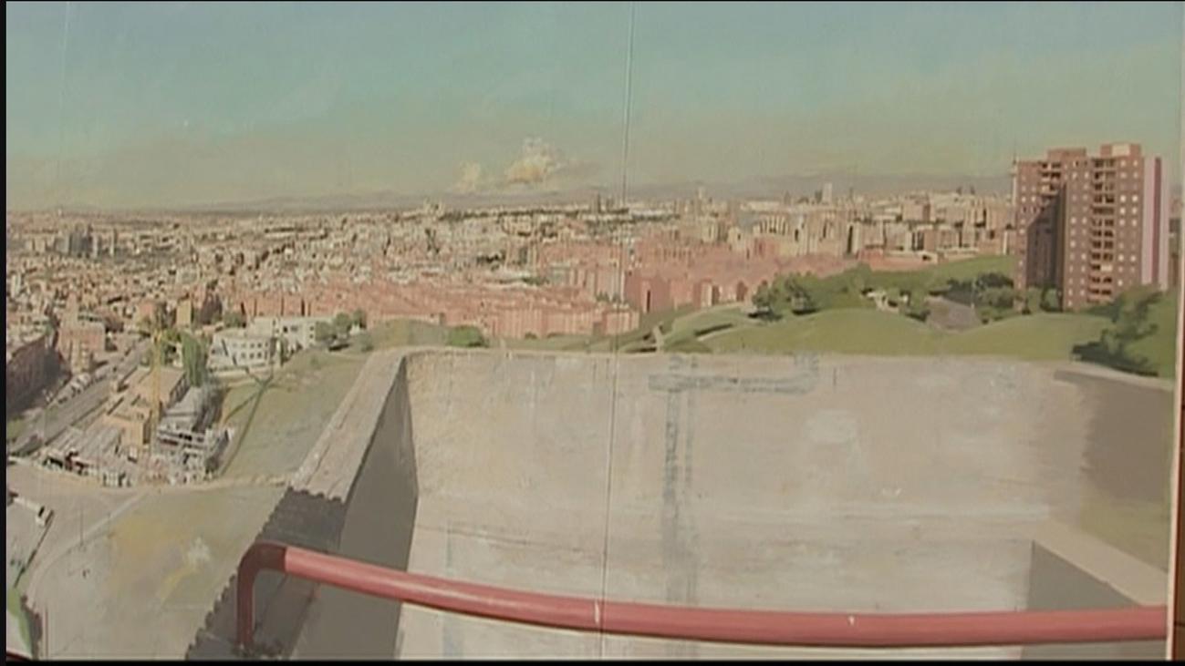 El cuadro de Antonio López 'Madrid desde Vallecas' deja la Asamblea temporalmente rumbo a Valencia