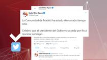 Díaz Ayuso pide a Sánchez una mayor implicación con Madrid