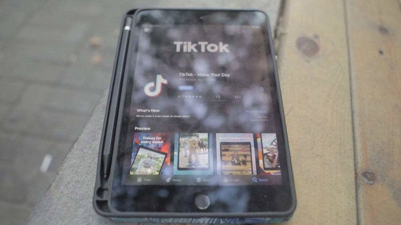 La red social TikTok