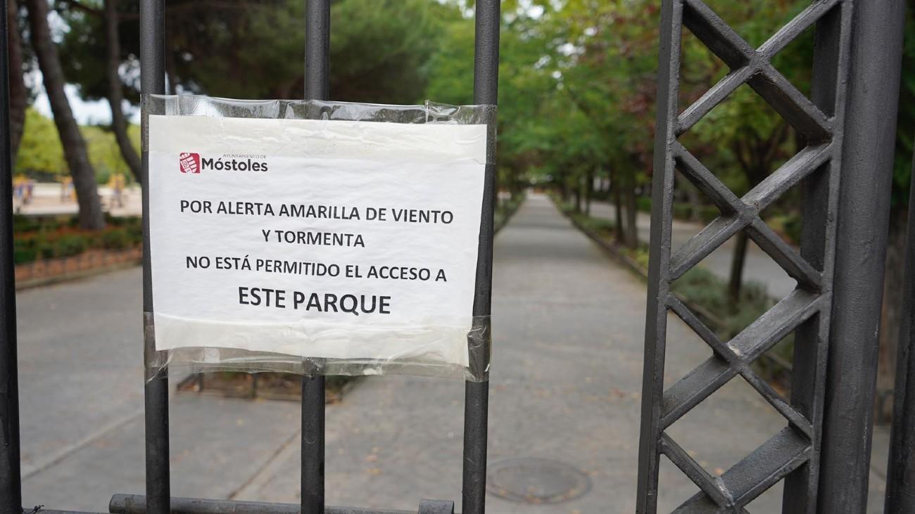 Parque cerrado de Móstoles