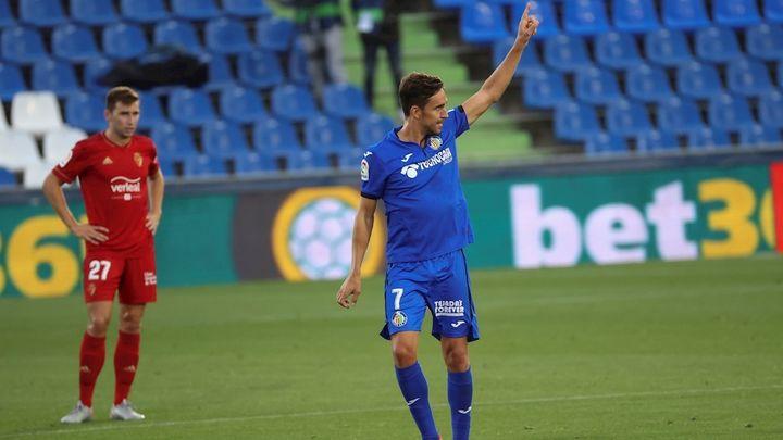 1-0. Mata premia al Getafe ante el Osasuna