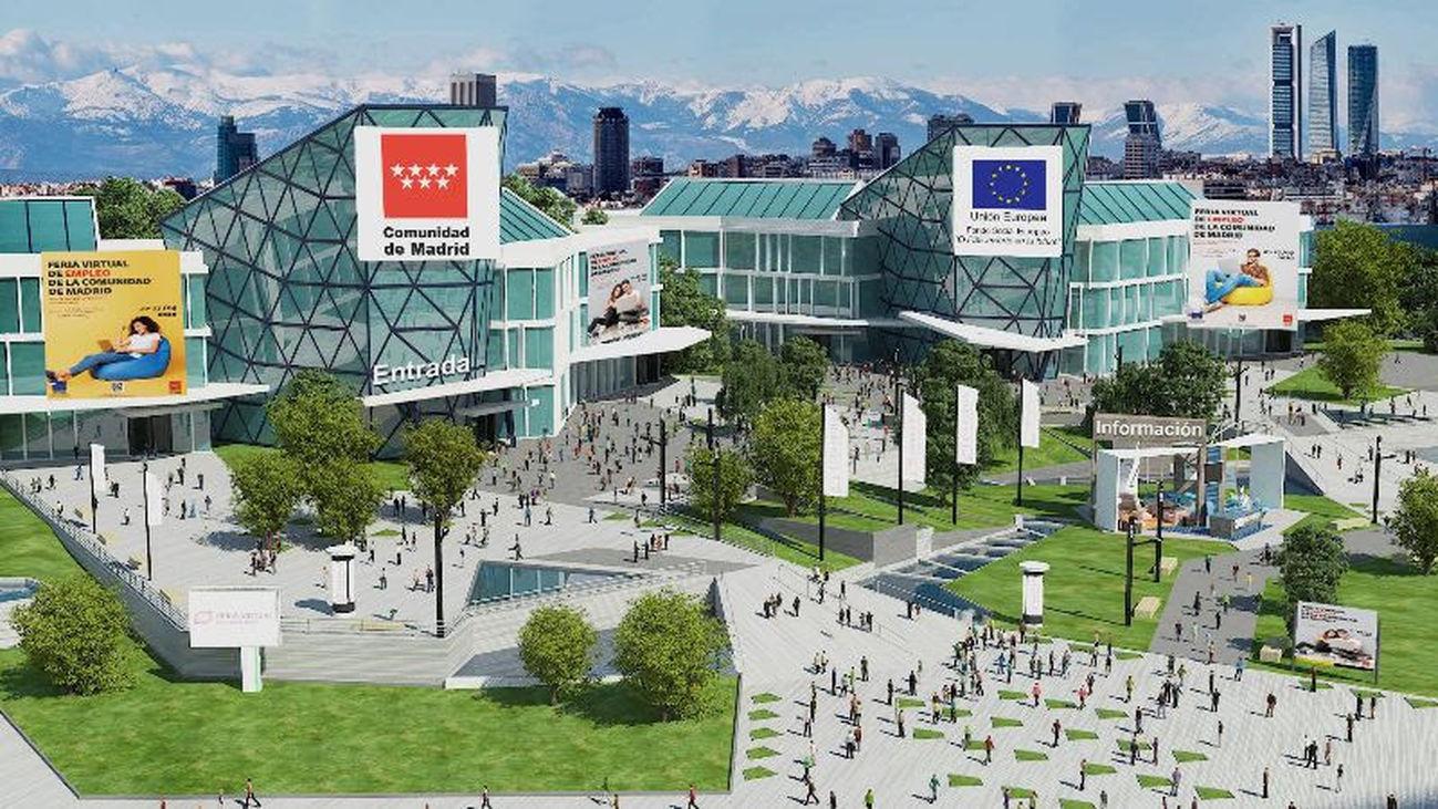 Más de cien empresas participan en la I Feria Virtual de Empleo de Madrid