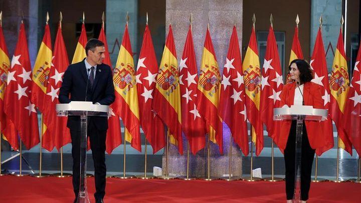 """Sánchez y Ayuso destacan su unión y que están """"listos para contemplar otros escenarios si son necesarios"""""""