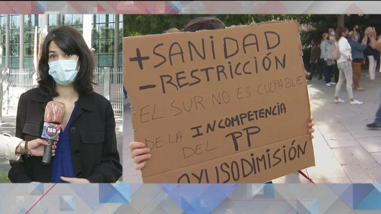 """Isa Serra: """"Ayuso se niega a reforzar los servicios públicos, aunque sea para salvar vidas"""""""