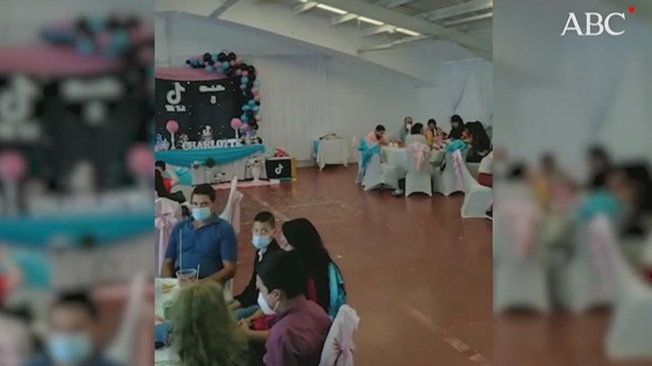 Desalojan una fiesta  con 80 personas que se celebraba en una nave de Leganés