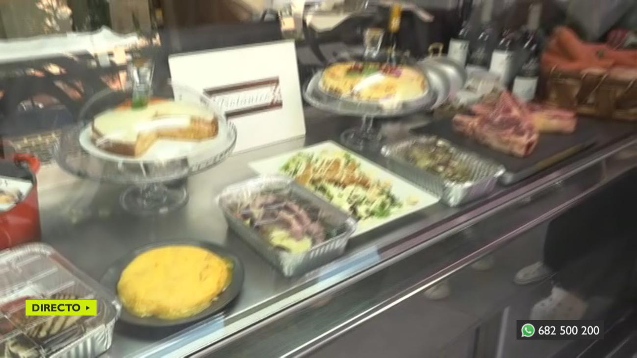 Se reinventa para evitar cerrar su restaurante, en Fuenlabrada