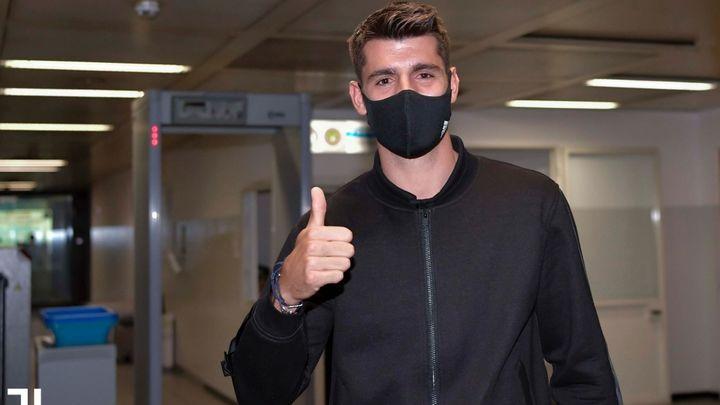 Morata ya está en Turín para formalizar su fichaje por el Juventus