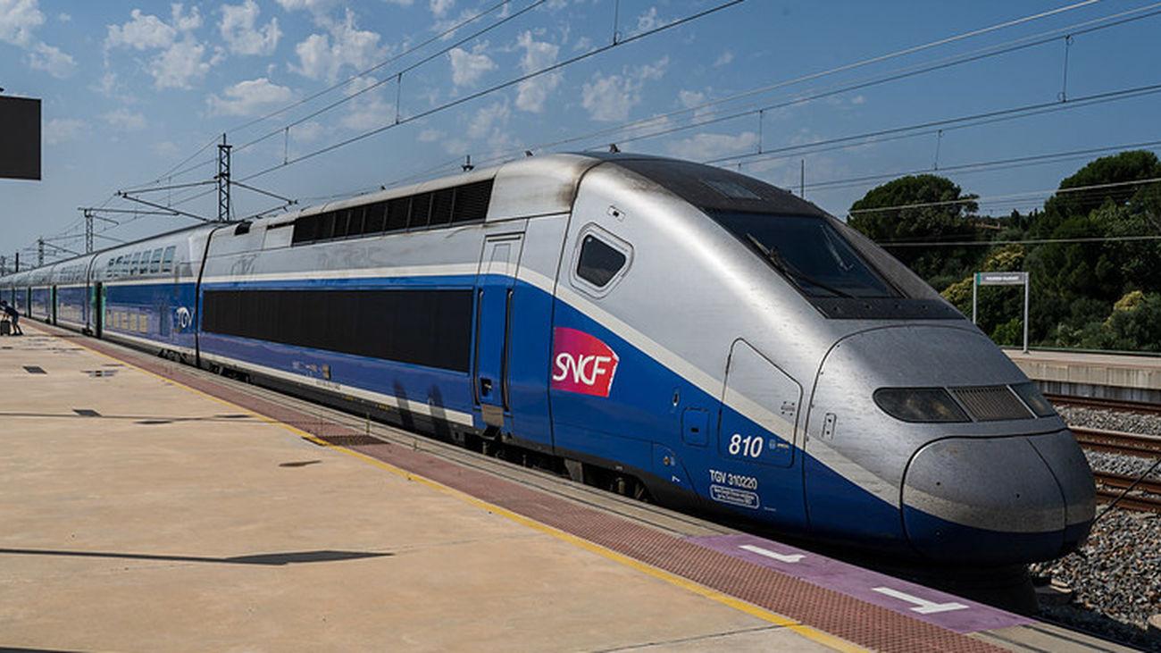 Línea de AVE SNCF