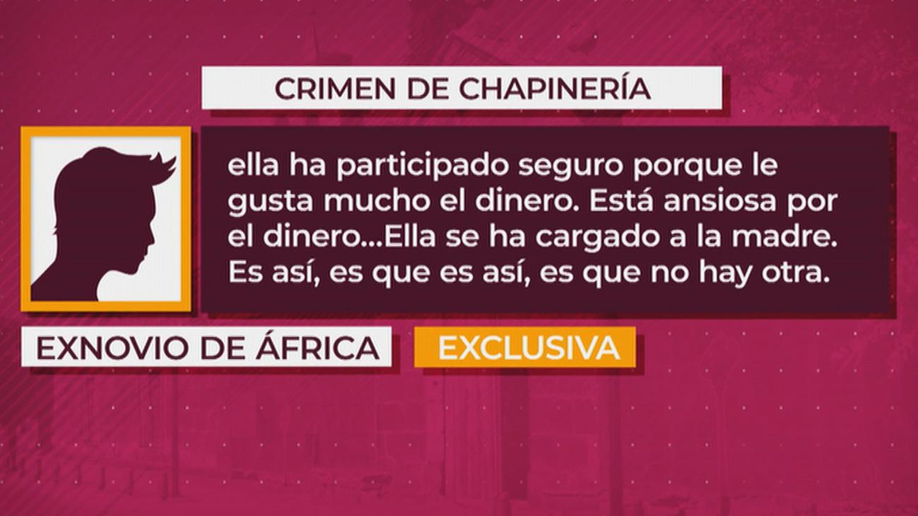 El exnovio de África, la hija de la víctima en el 'Crimen de Chapinería', habla en exclusiva en 'Está Pasando'